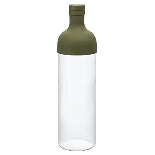 Hario Bottiglia Filtro 750ml Verde Oliva FIB-75-OG (Importato dal Giappone)