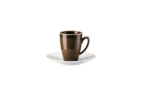 Rosenthal Mesh Line Walnut Espressotasse 2-TLG. [NPR]