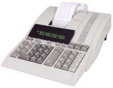 1X Tischrechner CPD 5212, mechanisches Druckwerk, 12 Zeichen, 220x90x290mm, lichtgrau Olympia CPD5212 12-stellig