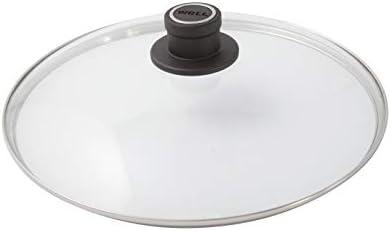 Sicherheitsglasdeckel oval Deckelknopf mit permanenter Entl/üftung 38 x 28,4 cm