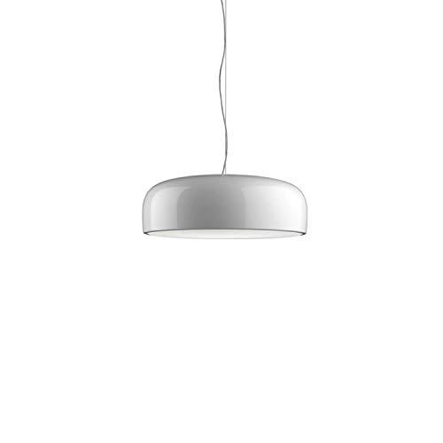 Lámpara de techo modelo Smithfield S Eco (2X36W), plafón de luz directa, moldeado por inyección de metacrilato, fijación de acero, 60 x 60 x 21,5 centímetros, color blanco (referencia: F136500
