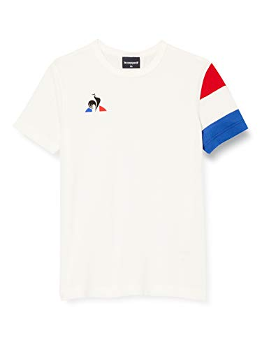 Le Coq Sportif Tennis tee SS N°2 Camiseta, Niños, New Optical White, 12A