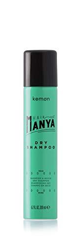 Kemon - Hair Manya Dry Shampoo, Secco per Capelli Puliti e Freschi, Effetto Leggerezza e Volume - 200 ml