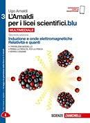 Kit libro scolastico AMALDI 3 X LICEI SCIENTIFICI.BLU (9788808137401) + 1 copertine trasparenti + cavalierini ed evidenziatore