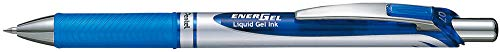 Pentel BL77-CO EnerGel Gel-Tintenroller mit Druckmechanik, 0,7 mm Kugeldurchmesser = 0,35 mm Strichstärke, nachfüllbar, 1 Stück, blau
