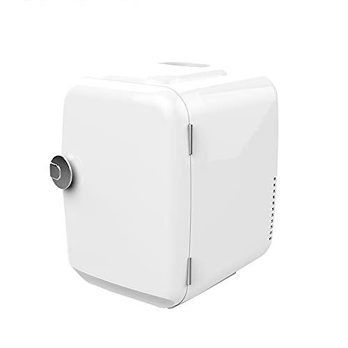 QPMY Mini Refrigerador, Refrigerador Pequeño, Calefacción Y Enfriamiento Ajustables, Ahorro De Energía Y Protección del Medio Ambiente, Refrigerador Silencioso para Automóvil