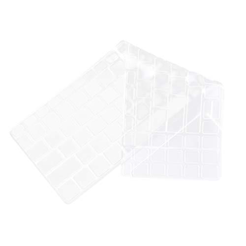Solustre - 1 Pieza TPU Tastaturabdeckung Compatible con Acer Swift3-15 AMD Premium Ultradünne Tastaturschutzfolie para Tastaturschutz Blanco Blanco 31,5 * 13 cm, Aspire 3 A315-55G
