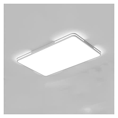 Lámpara de techo Lámpara de sala de estar Lámpara de techo Hogar atmosférico Ultra-delgado Lámpara rectangular simple Lámpara de Dormitorio Dormitorio Moderno Diseño Creativo Luz Techo Iluminación de