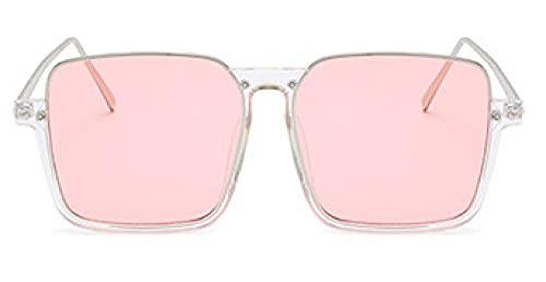 MANW Gafas de sol cuadradas con montura grande anti luz azul gafas de sol-I