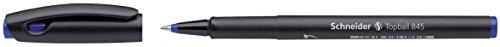 Schneider Topball 845 Rollerball Pen, 0.3mm, Blue Ink, Box of 10 (184503)