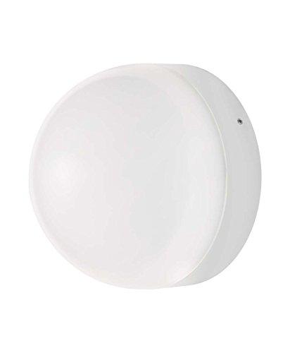 Osram Endura Style Ball Applique/Plafoniera LED per Esterni con Sensore Crepuscolare e di Movimento 12 W, Bianco