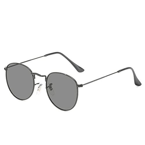 Huaji Gafas de bloqueo de luz azul ligero retro moda marco de metal transparente lentes para hombres mujeres