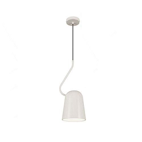 JIANAND Lámpara de araña nórdica simple, lámpara colgante de lectura de sofá de sala de estar, lámpara colgante de cabecera de dormitorio, recepción de bar, lámpara de personalidad creativa, lámpara d