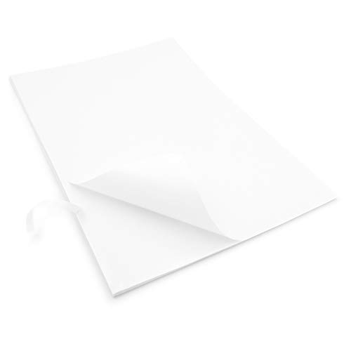 EVG Thuis & Kantoor benodigdheden 20 x Gemakkelijk Peel Crack terug Zelfklevende A4 Blank Witte Vellen Aanpasbare Witte Vel Sticker Label Printing Paper Sheet
