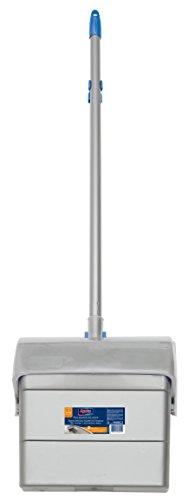Spontex Set Recogedor y Escoba con Sistema Abre-Cierre Autom