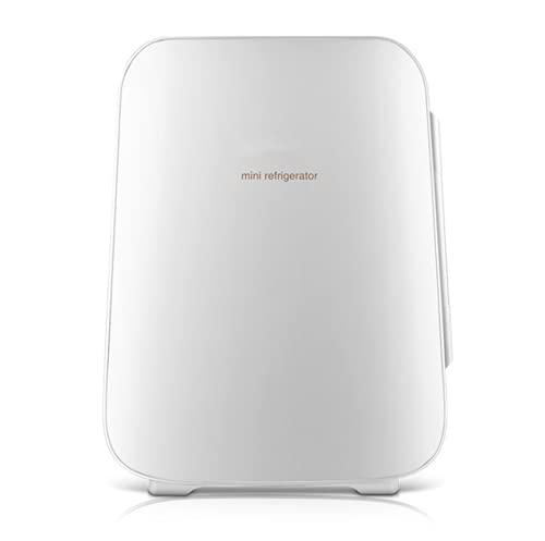 LVYE1 MRMF Mini Nevera 4L, Refrigerador De Coche, Refrigerador Cosmético, Enfriador Y Calentador Portátil Compacto, Refrigerador para El Cuidado De La Piel, Bajo Nivel De Ruido, 12V / 220V