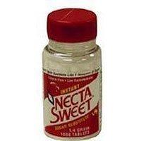 Necta Sweet Saccharin Sugar Substitute 0.25 Grain Tablets - 1000 Each (pack of 1)