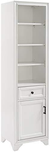 Crosley Furniture Tara Bathroom Linen Cabinet, Vintage White