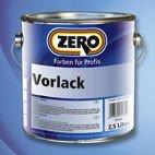 Vorlack / Vorstreichfarbe Weiß Neu von Zero Lack 375 ml