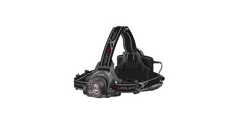 Led Lenser 7299-R LED7299R Head Torch, 3.7 V, Black