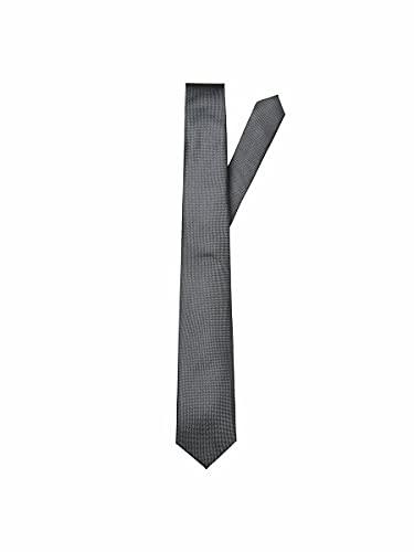 SELECTED HOMME male Krawatte Seiden ONE SIZEGrey