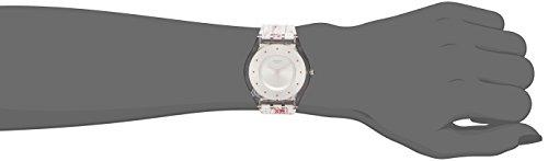 Swatch Montre Femme Analogique Quartz avec Bracelet en Plastique – SFE102