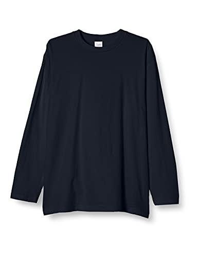 [プリントスター] 5.6オンス CVL ヘビーウェイト 長袖 Tシャツ 00102-CVL ネイビー 日本 130cm (日本サイズ130 相当)