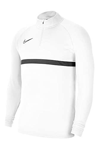 Nike Męska bluza treningowa Dri-fit Academy 21 Biały/czarny/czarny M