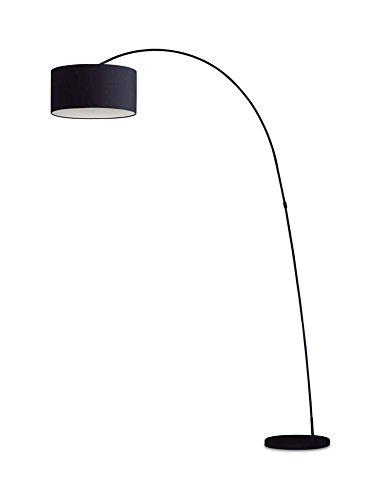 VAL2F68463/132 – ILLUMINAZIONE INTERNO LAMPADA DA TERRA PIANTANA METALLO NERO – PROPOSTO DA VALASTRO LIGHTING