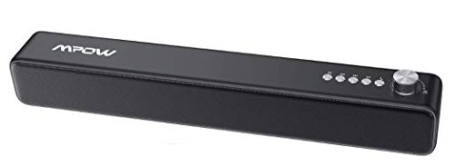 PC Soundbar, Mpow Wired and Wireless Computer Speaker with 3D Stereo...
