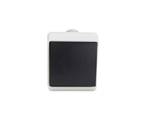 Interruptor simple exterior impermeable SERIE IP 54 16A-250V. (1 INTERRUPTOR)