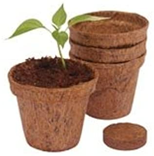 Wonder Soil Coir Pots with Wafers