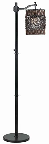 Kenroy Home Rustic Outdoor Floor Lamp ,60 Inch Height, 11.813 Inch Length, 19 Inch Width with Oil...