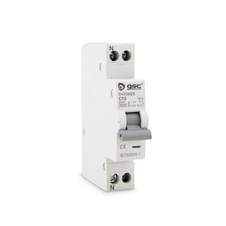 GSC Interruptor automático Estrecho DPN 1P+N 25A 0403671