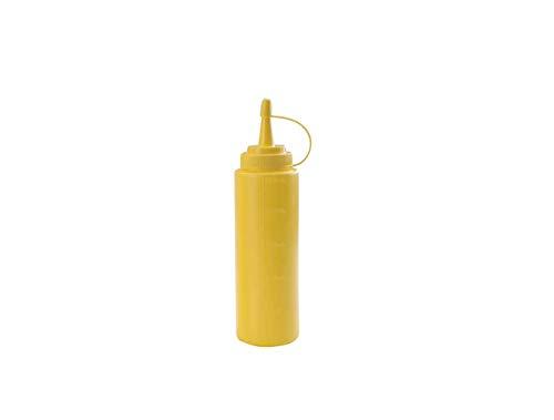 Lacor 61925A - Botella biberón, 250 ml, color amarillo