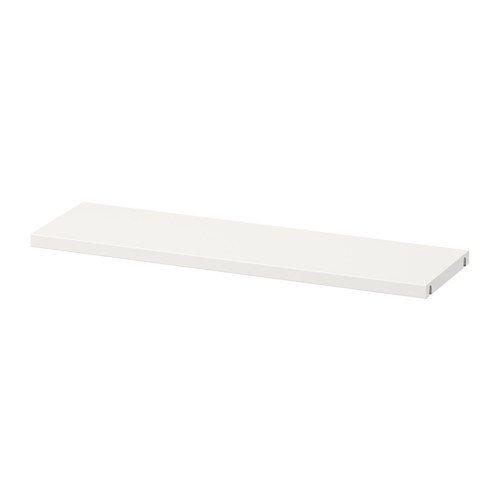 IKEA BESTA Boden in weiß; (56x16cm)