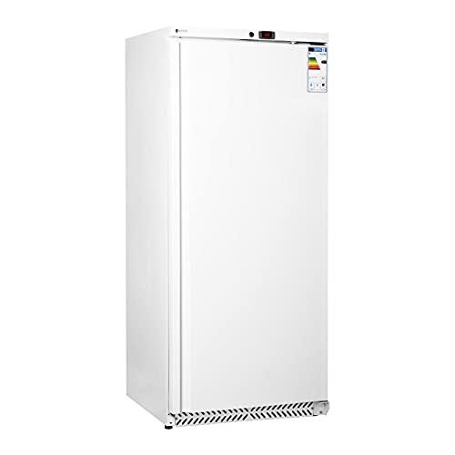 Royal Catering Gastro Kühlschrank Lagerkühlschrank Gewerbekühlschrank RCLK-W600 (590 L, Leistung 235 W, 3 Einlagen, verschließbare Schwenktür, Temperaturbereich 0–8 °C)
