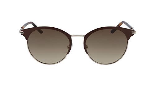 Calvin Klein EYEWEAR CK19310S gafas de sol, DARK BROWN, 5218 para Mujer