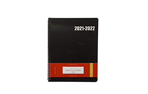 Delane Monthly Planner 2021-2022 - 18 Month Academic Monthly Schedule...