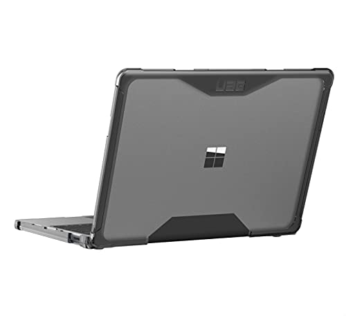 URBAN ARMOR GEAR UAG Designed for Microsoft Surface Laptop Go Case [12.4-inch Screen] Plyo Feather-Light Translucent Rugged Military Drop Tested Laptop Cover, Ice
