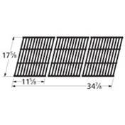Music City Metals 69983 Gloss Cast Iron Cooking Grid Replacement for Gas Grill Model Coleman 9998, Set of 3
