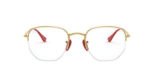 Ray-Ban 0RX6448M-F029-53 Gafas de lectura, Dorado, 53 Unisex Adulto
