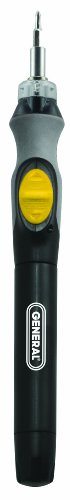 General Tools Cordless Lighted Power Precision Screwdriver