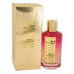 Mancera Roses & Chocolate Eau de Parfum Spray (Unisex) by Mancera - 4 oz