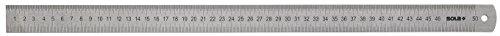 Sola LSB - Regla semi-rígida de acero inoxidable de 300 mm, gris
