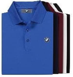 BMW Genuine Logo Men's Tech Polo Shirt/Burgundy XXL