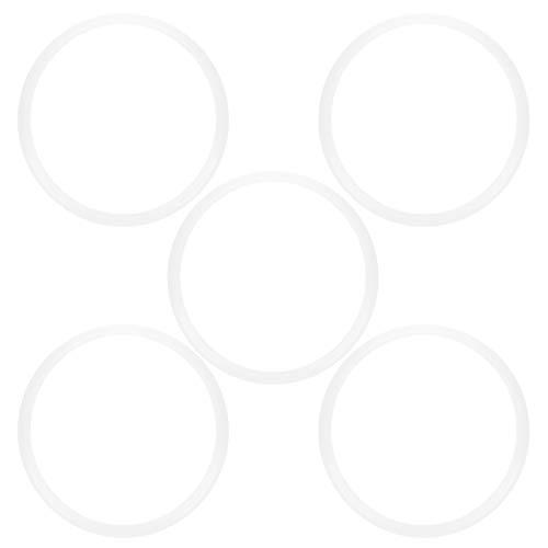 Pressure Cooker Gaskets, 5pcs Universal Rubber Gasket for Pressure Cookers Silicone Gaskets O Ring (18cm, 20cm, 22cm, 24cm, 26cm)(20cm)