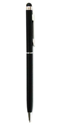 Emartbuy BTC Flame + / BTC Flame Plus Quad Core 7 inch Tablet PC Black Dual Function Ball Pen + Capacitive Resistive Touchscreen Stylus Pen