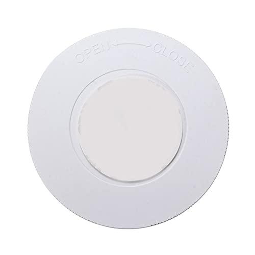 YSJJXTB Luz Nocturna Forma Circular LED Sensor táctil inalámbrico Cocina de la luz de la Noche Debajo del Armario Armario Lámpara de Pared Baterías eléctricas (Emitting Color : White)