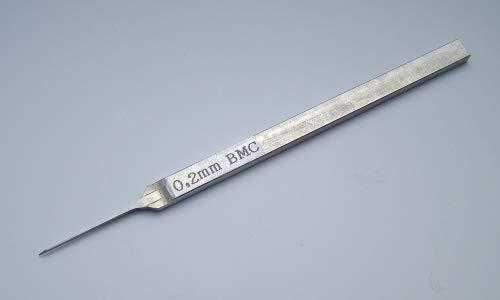 スジボリ堂 BMCタガネ 幅0.2mm プラモデル用工具 T-020N
